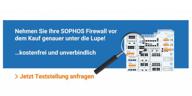 Mehr Sicherheit für Ihre IT mit den Lösungen aus dem Sophos UTM Shop